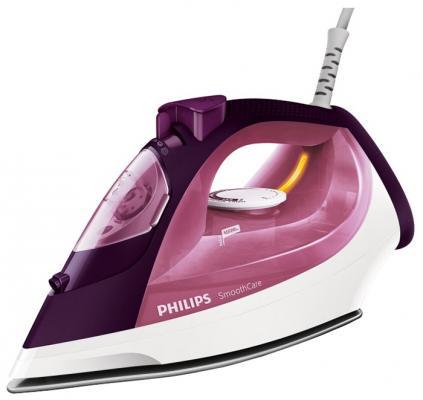 Утюг Philips GC3581/30 2400Вт бордовый  philips hd9015 30