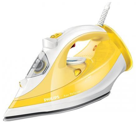 Утюг Philips GC3801/60 2400Вт жёлтый утюг bosch tda1024140 2400вт жёлтый белый