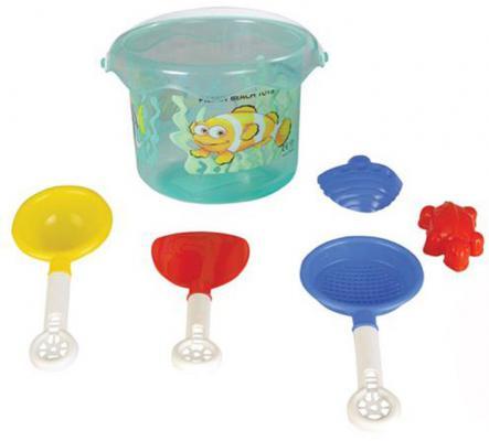 Песочный набор Pilsan 06-131 6 предметов игрушка pilsan king green 06 604