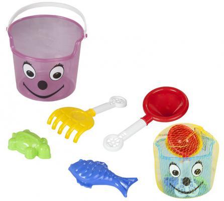 Песочный набор Pilsan 06-117 5 предметов игрушка pilsan king green 06 604