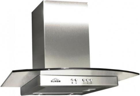 Вытяжка каминная Elikor Кристалл 60Н-430-КЗГ серебристый