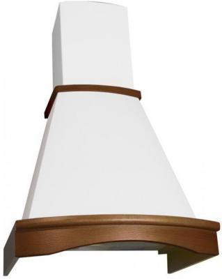 Вытяжка каминная Elikor Ротонда 50П-650-П3Л бежевый /дуб коричневый