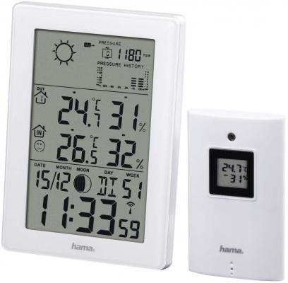 Погодная станция Hama EWS-3200 белый 136258 все цены