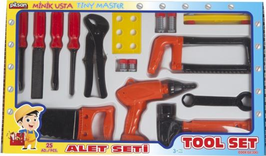"""Игровой набор Pilsan """"Инструменты Tool Set"""" 14 предметов 03-230"""