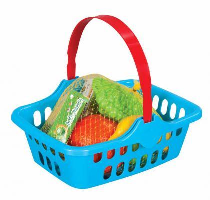 Купить Набор фруктов Pilsan Корзина с фруктами 06-001, разноцветный, Игровые наборы Маленькая хозяйка