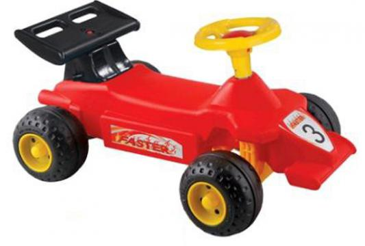 Каталка-машинка Pilsan Super Race красный от 1 года пластик