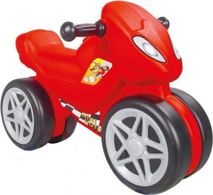 Каталка-мотоцикл Pilsan Мini Motо красный в подарочной коробке 06-809