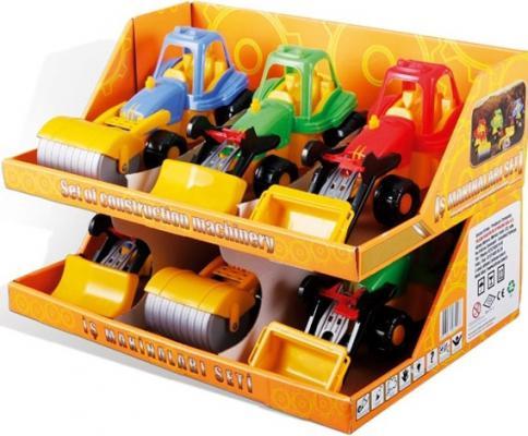 Набор — heavy Duty разноцветный 3 машинки