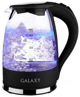 Чайник GALAXY GL0552 2200 Вт прозрачный 1.7 л пластик/стекло