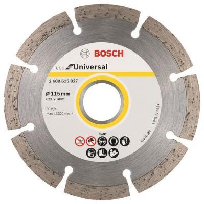 Алмазный диск Bosch ECO Universal универсальный 2608615027