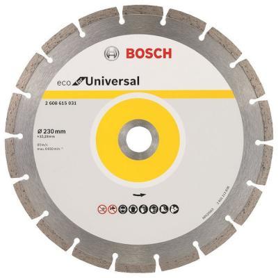 Алмазный диск Bosch ECO Universal универсальный 2608615031 bosch pmd 10