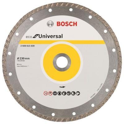 Алмазный диск Bosch ECO Univ.Turbo универсальный 2608615039