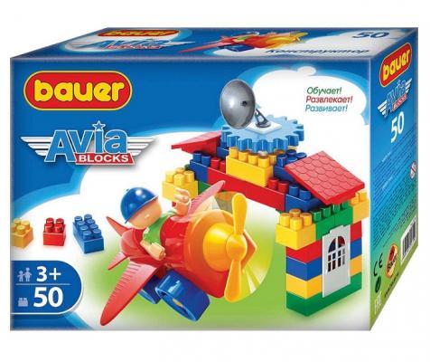 Конструктор Bauer Avia 319 50 элементов конструктор mapacha конструктор сортер 50 элементов 76735