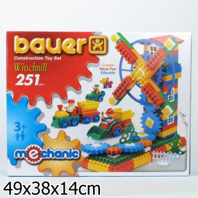 Конструктор Bauer Mechanic - Мельница 251 элемент 187