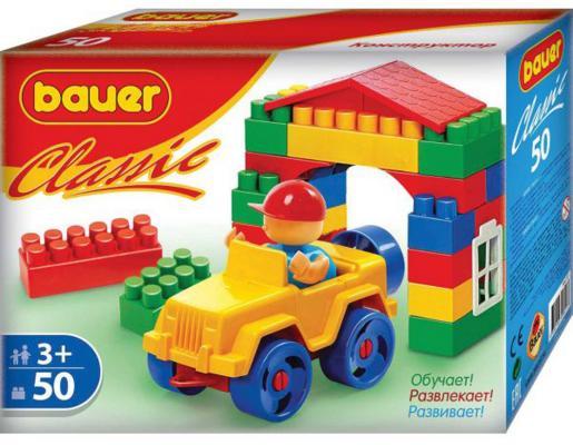 Конструктор Bauer Classic 50 элементов 321 конструктор bauer classic 136 элементов