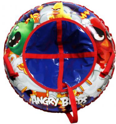 Купить Тюбинг 1toy Angry Birds разноцветный ПВХ, Тюбинги