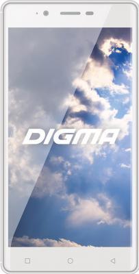 """Смартфон Digma S502 4G VOX белый 5.5"""" 8 Гб Wi-Fi GPS LTE 3G"""