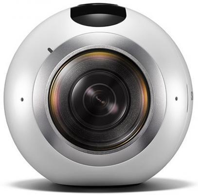 Экшн-камера Samsung Gear 360 SM-C200N белый hp ac100 экшн камера