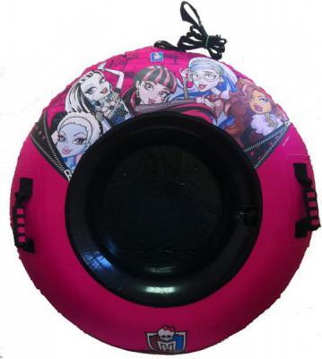Тюбинг 1Toy Monster High до 70 кг розовый ПВХ