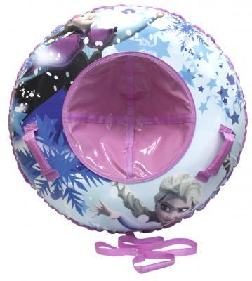 Тюбинг Disney Холодное сердце до 100 кг разноцветный ПВХ