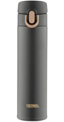Термос Thermos JNI-401-MTBK SS Vac. Insulated Flask 0.4л черный 933881