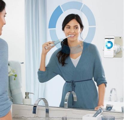 Зубная щётка Braun Oral-B Genius 8000 белый