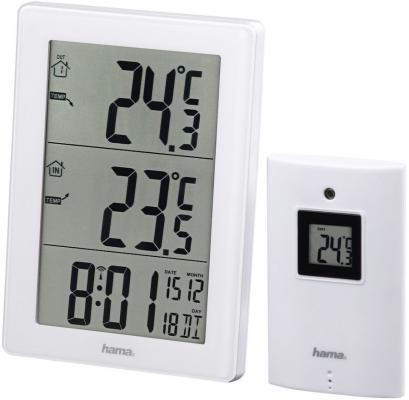 лучшая цена Метеостанция Hama 136256 EWS-3000 белый