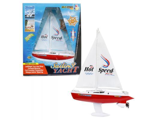 Яхта с парусом Тилибом 8887856585309 пластик от 7 лет белый автодром тилибом овал т80433