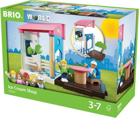 """Игровой набор Brio """"Кафе-мороженое"""",13 предметов"""