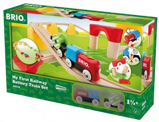 Набор Brio «Моя первая железная дорога с поездом на батарейках» brio кантри
