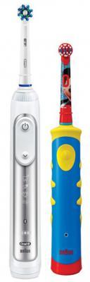 Зубная щётка Braun Oral-B 8200 + Mickey Kids белый