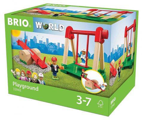 """Игровой набор Brio """"Детская площадка"""",4 предмета"""