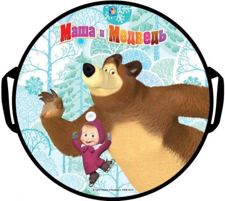Ледянка 1toy Маша и Медведь Т59046 разноцветный рисунок ледянка 1toy свинка пеппа т59156 разноцветный рисунок