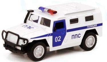 Фото - Инерционная металлическая машинка Play Smart Полиция Р41118 машины play smart инерционная металлическая машинка полиция