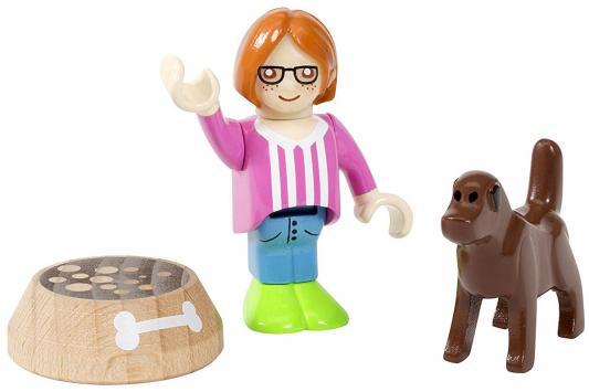 Игровой набор Brio с человечком, собакой и миской