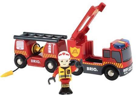 Игровой набор Brio пожарная машина,свет,звук,выдвижн.лестница,закруч.шланг