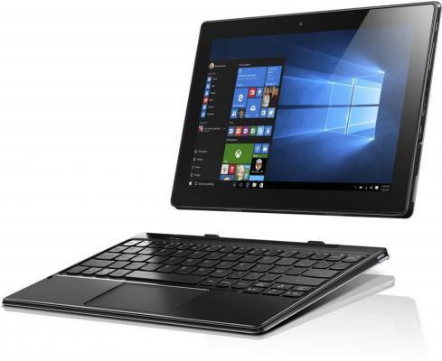 "Планшет Lenovo MiiX 310-10ICR Atom x5-Z8350 (1.44) 4C/RAM4Gb/ROM32Gb 10.1"" 1920x1080/3G/4G/Windows 10/серый/5Mpix/2Mpix/BT/WiFi/Touch/microSD 64Gb/mHDMI/minUSB/10hr"