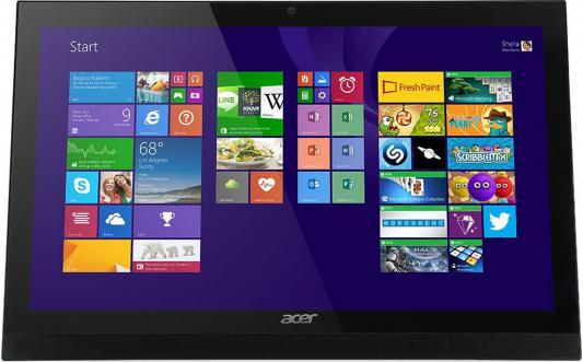 "Моноблок Acer Aspire Z1-622 21.5"" Full HD P J3710 (1.6)/4Gb/500Gb/GF920 2Gb/DVDRW/CR/Windows 10 Single Language/Eth/WiFi/BT/Spk/клавиатура/мышь/Cam/черный 1920x1080"