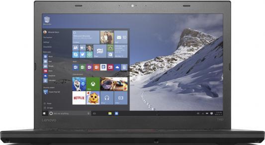 "Ноутбук Lenovo ThinkPad T460 14"" 1920x1080 Intel Core i7-6500U 20FNS0GY00"