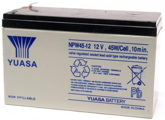 Батарея Yuasa NPW 45-12 12V/9AH батарея powerman ca1290 12v 9ah