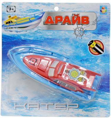 """Катер 1 toy """"Драйв"""" красный 22 см"""