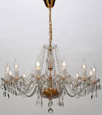 Подвесная люстра Favourite Monreal 1735-12P подвесная люстра 1735 12p favourite хрустальная люстра