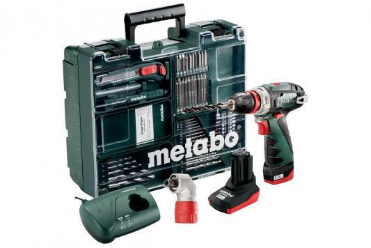 Аккумуляторная дрель-шуруповерт Metabo PowerMaxxBSQuickPro 600157880 аккумуляторная дрель шуруповерт metabo powermaxx bs quick basic 600156500