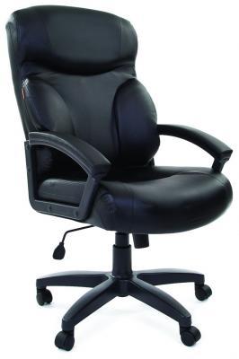 Кресло Chairman 435 LT черный 7007495/7020707 кресло для руководителя chairman chairman 435 черный серый