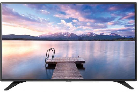 Телевизор LG 49LW340 серебристый черный