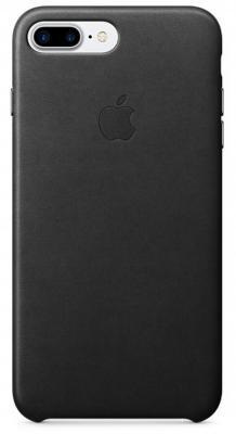 Чехол Apple Leather Case для iPhone 7 Plus чёрный MMYJ2ZM/A