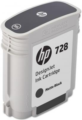 Картридж HP 728 F9J64A для DJ T730 черный