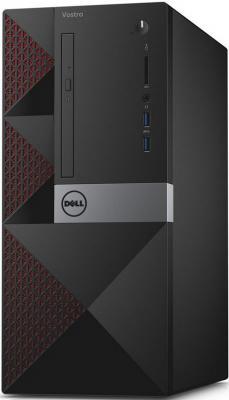 Системный блок Dell Vostro 3650 MT i7-6700 3.4GHz 8Gb 1Tb DVD-RW Win10SL клавиатура мышь черный 3650-8490