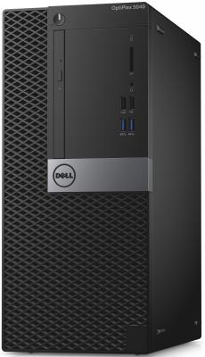 Системный блок Dell Optiplex 5040 MT i7-6700 3.4GHz 8Gb 500Gb R5 340X-2Gb DVD-RW Win7Pro Win10Pro клавиатура мышь серебристо-черный 5040-9983