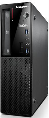 Системный блок Lenovo ThinkCentre Edge 73 SFF i5-4460S 2.9GHz 4Gb 500Gb Intel HD DVD-RW Win7Pro Win10Pro черный 10DUS04L00
